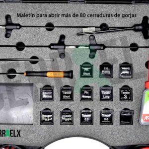 Ganzúas para abrir puertas: Cerraelx.es: Herramientas de Cerrajería