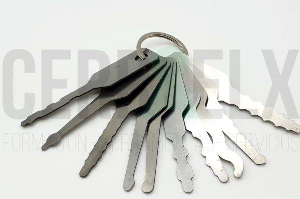 ganzua jigglers: Cerraelx.es: Herramientas de Cerrajería